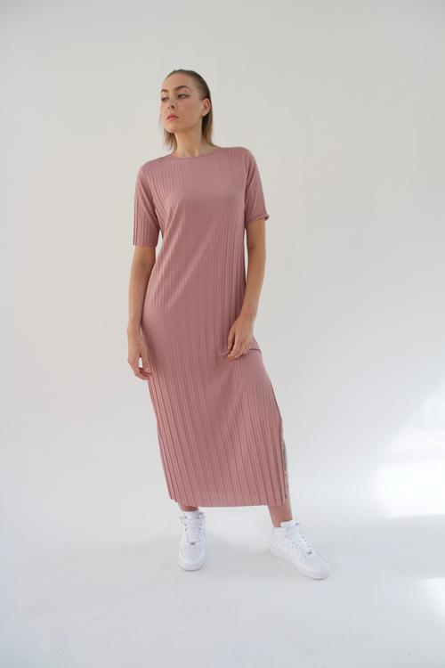 YLYK - AMINA Maxi Dress - Rose