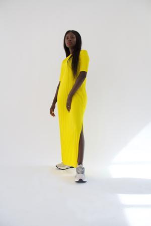 YLYK - AMINA Maxi Dress - Gul