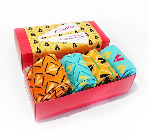 AKUKO - Giftbox Ogene Mix Bamboo Socks