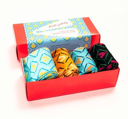 AKUKO - Giftbox Ogene Classic Bamboo Socks