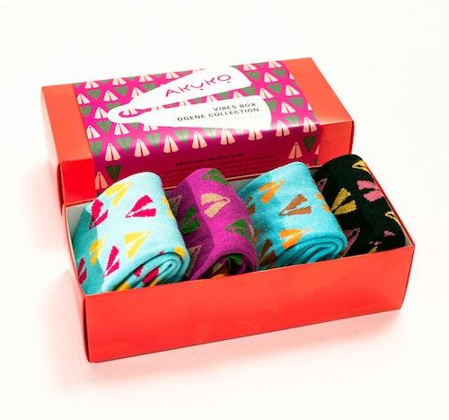 AKUKO - Giftbox Ogene Vibes Bamboo Socks