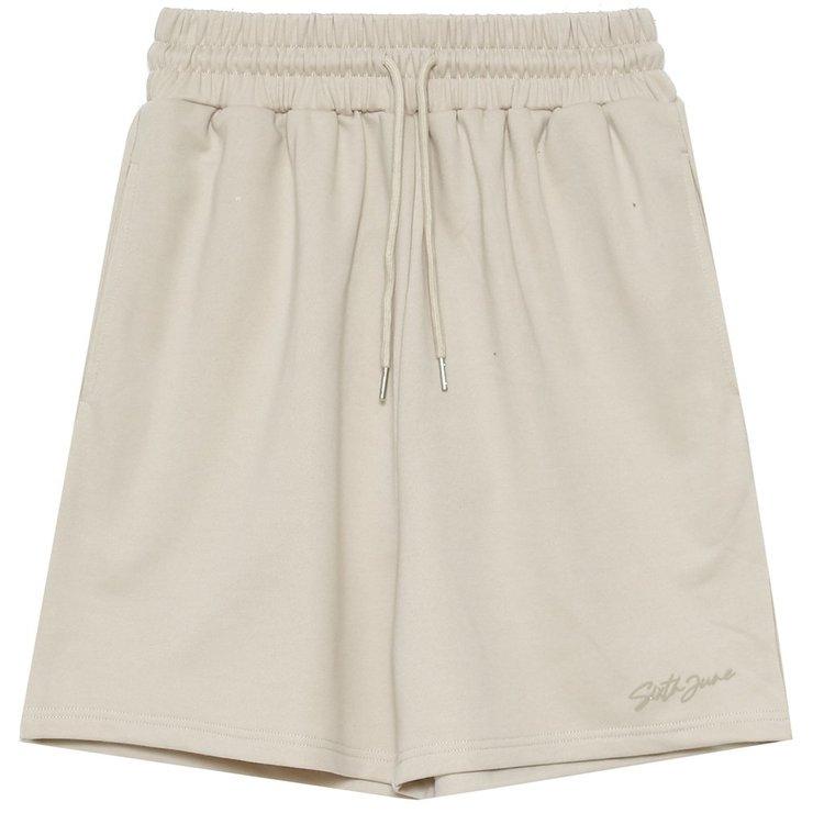 SIXTH JUNE - Logo signature shorts - Beige