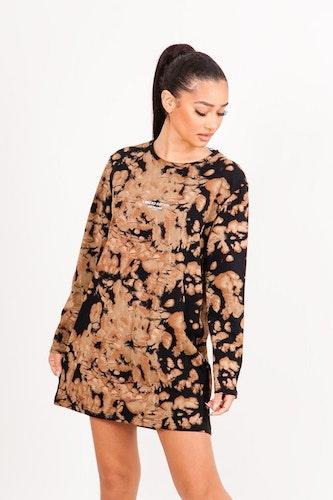 SIXTH JUNE - Tie dye Limited Edition dress - Black