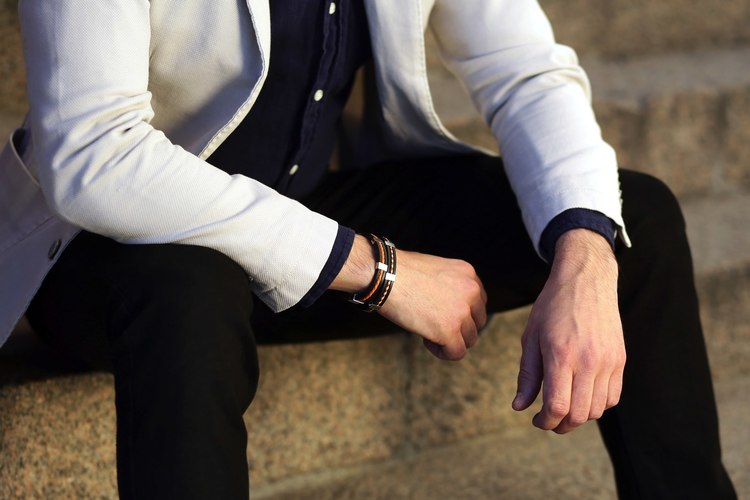 brunt exklusivt herr armband so sweden