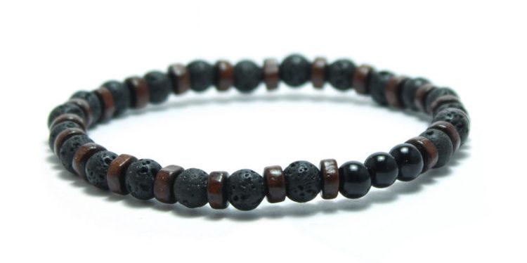 armband pärlor svart unit jewelry