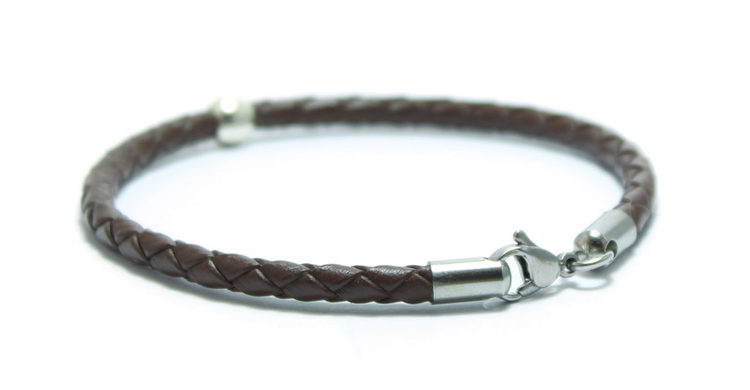 armband läder silver simply silver unit jewelry