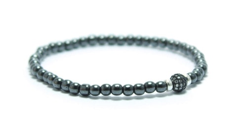 UNIT JEWELRY | Armband | Hematite Pavé Mini