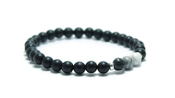 UNIT JEWELRY   Armband   Grey Ombre Silver