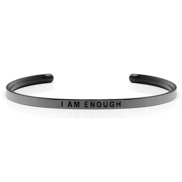 DANIEL SWORD | Armband | I am enough - Space Grey