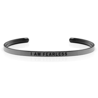 DANIEL SWORD | Armband | I am fearless - Space Grey