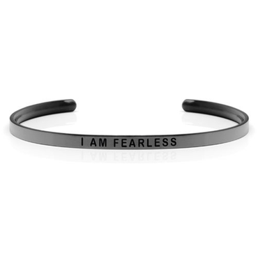 DANIEL SWORD | Armband | I am fearless - Space Grey