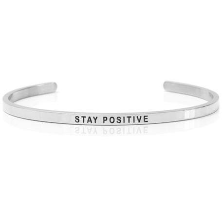 smycken silverarmband daniel sword Stay positive
