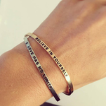 DANIEL SWORD | Armband | Stay positive - Steel