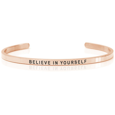 DANIEL SWORD | Armband | Believe in yourself 18K Rose gold