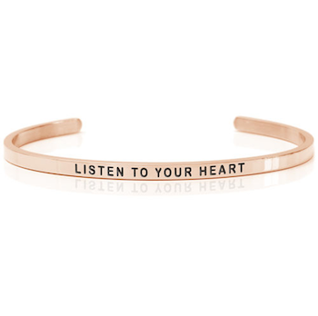 DANIEL SWORD | Armband | Listen to your heart 18K Rose gold