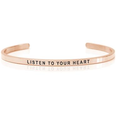 DANIEL SWORD | Armband | Listen to your heart 18K Rose gold
