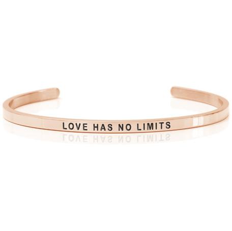armband i roséguld daniel sword Love has no limits
