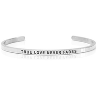 DANIEL SWORD | Armband | True love never fades - Steel
