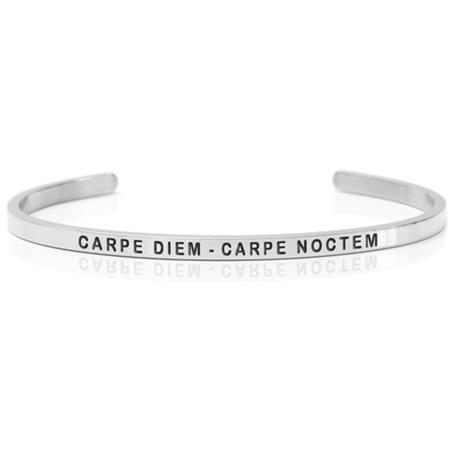 stelt silverarmband Carpe Diem Carpe Noctem