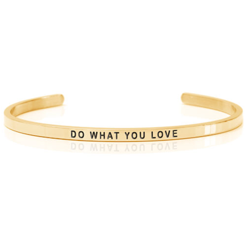 DANIEL SWORD | Armband | Do what you love - 18K gold