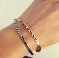 DANIEL SWORD   Armband   Do what you love - 18K gold