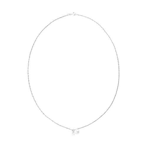 silverhalsband med vit pärla 1 saint avenue