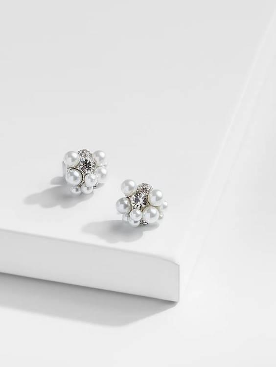 örhängen popcorn pärlor kristaller 1 saint avenue