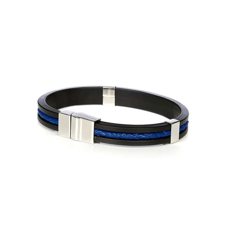 SO SWEDEN | Armband | Menswear | Blue and Silver