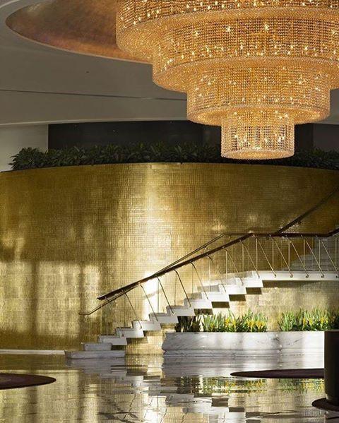 hotell lobby i guld miami beach