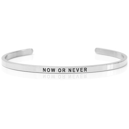 DANIEL SWORD | Armband | Now or Never - Steel