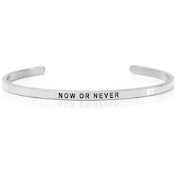 DANIEL SWORD | Armband | Now or Never - Steel