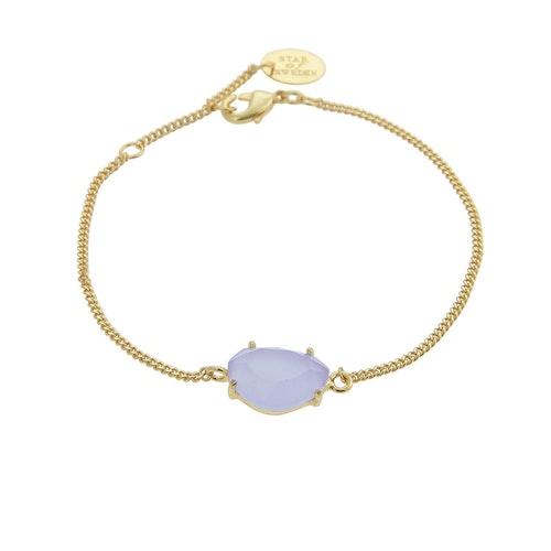 STAR OF SWEDEN | Klassiskt armband | 18K Guld | Light Sapphire Blue