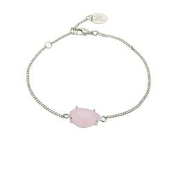 STAR OF SWEDEN | Klassiskt armband | Silver | Powder Pink