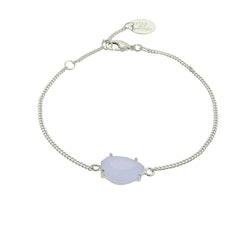 STAR OF SWEDEN | Klassiskt armband | Silver | Light Sapphire Blue