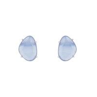 STAR OF SWEDEN | Klassiska örhängen | Silver | Light Sapphire Blue