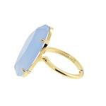 STAR OF SWEDEN | Ring | 18K Guld| Light Sapphire Blue