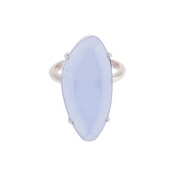 STAR OF SWEDEN | Ring | Silver | Light Sapphire Blue