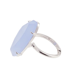 STAR OF SWEDEN   Ring   Silver   Light Sapphire Blue