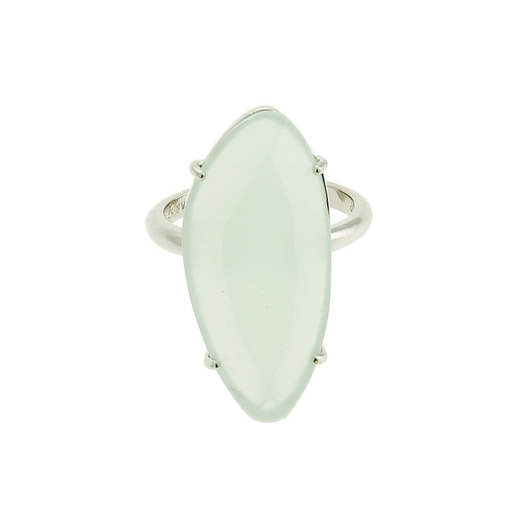STAR OF SWEDEN | Ring | Silver | Milky Aqua