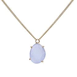 STAR OF SWEDEN   Kort halsband   18K Guld   Light Sapphire Blue