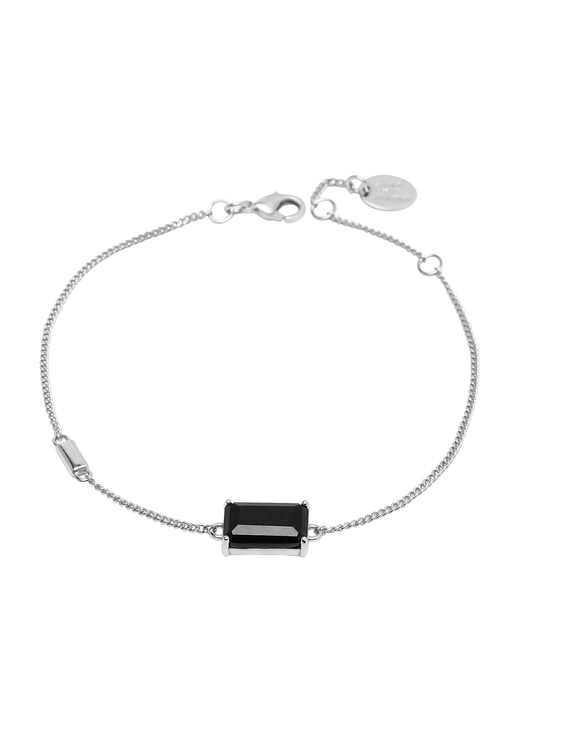 STAR OF SWEDEN | Armband | Jet Set | Dark Mystery Silver