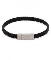 DWITE MAN | Armband | Aron Black Leather