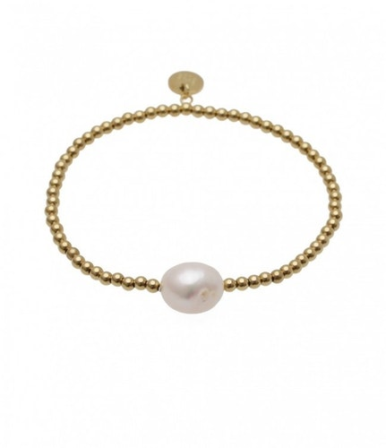BUD TO ROSE | Armband  | Baroque Pearl Gold
