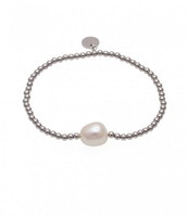 BUD TO ROSE   Armband   Baroque Pearl Silver