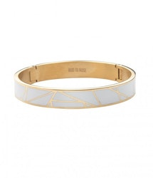 BUD TO ROSE | Armband | Rose Enamel White/Gold