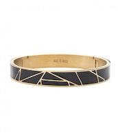 BUD TO ROSE   Armband   Rose Enamel Black/Gold