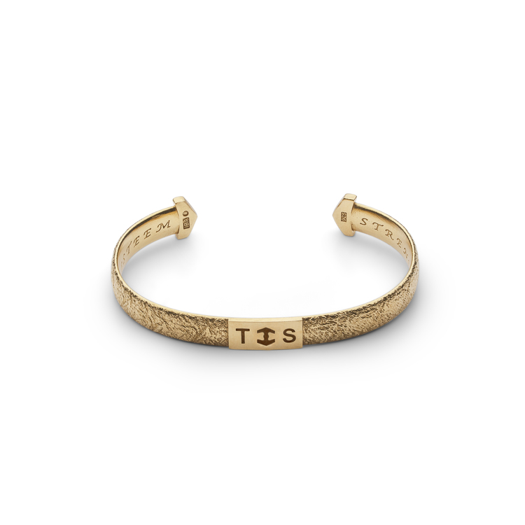 TREEM armband i 18K guld  Norden