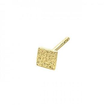 ANITA JUNE | Örhängen | Balboa Square Studs - 18K Gold