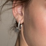 ANITA JUNE | Örhängen | Balboa Thin Hoop - Sterlingsilver