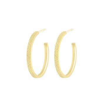 ANITA JUNE | Örhängen | Balboa Thin Hoop - 18K Guld